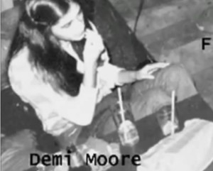 demi moore in freddie moore video