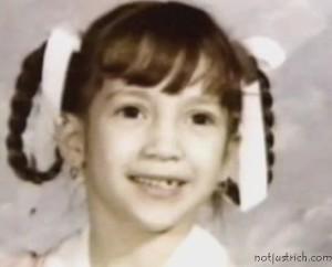 jennifer lopez childhood photo