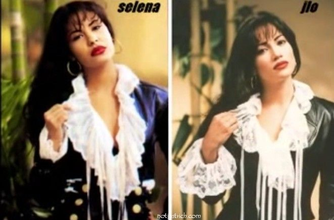 Selena quintanilla and jennifer lopez