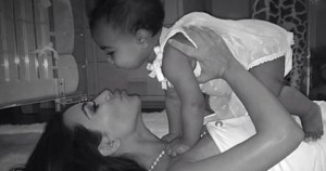 kim kardashian baby north west