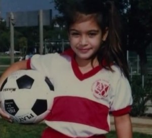 kim kardashian childhood images