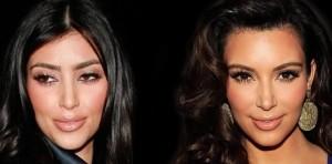kim kardashian plastic surgery face