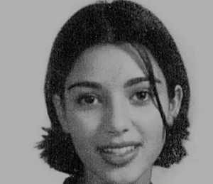 kim kardashian teenage picture