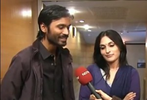 Rajinikanth's daughter Aishwarya with Dhanush