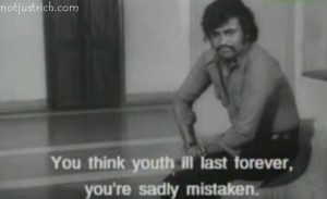 rajinkanth old movie scene