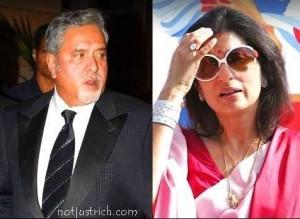 vijay mallya wife rekha