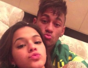 Neymar girlfriend Bruna