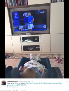 Novak Djokovic  son stefan