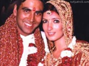 akshay kumar twinkle khanna wedding picture