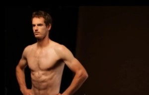 andy murray shirtless