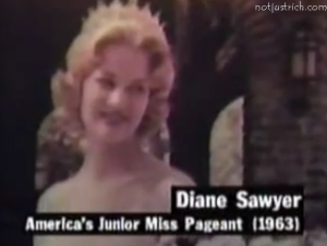 diana sawyer model america junior miss pageant