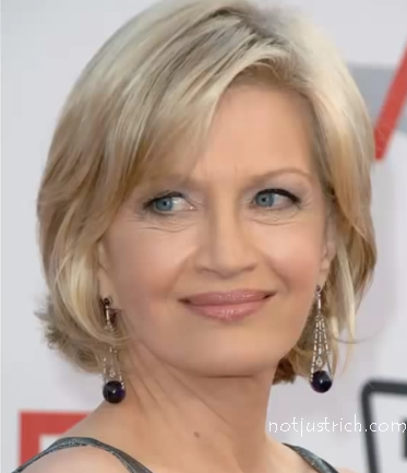 diane sawyer latest photo