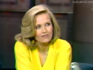 diane sawyer young photo