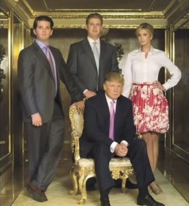 donald trump family