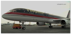 donald trump jet airplane