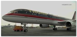 donald trump jet airplane