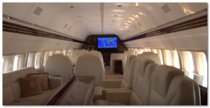 donald trump jet plane picture