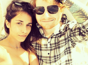 ed sheeran girlfriend Athina Andrelos