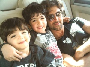 hrithik roshan children