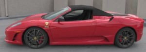 lebron james car ferrari F430