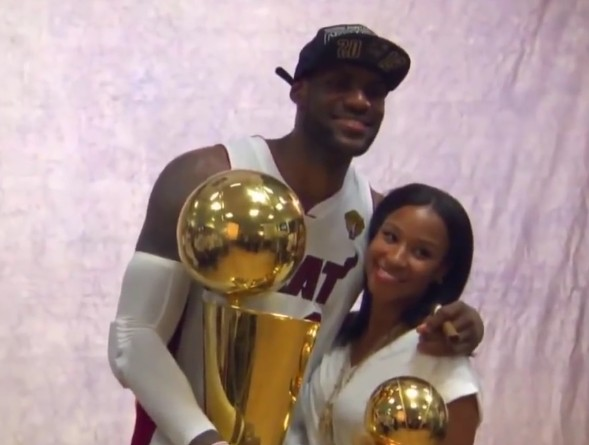 c9de35b51d9 lebron james wife Savannah Brinson