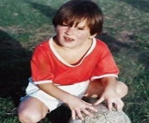 lionel messi childhood picture