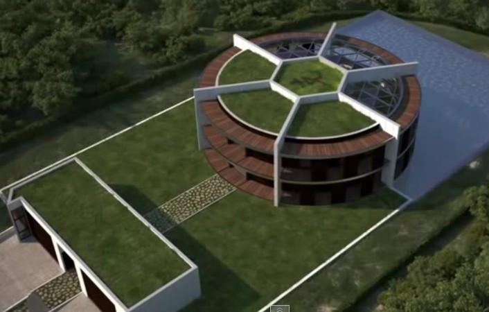 Messi's One-Zero Eco-house in Barcelona