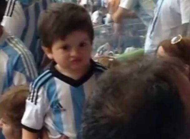 Lionel Messi Son Thiago