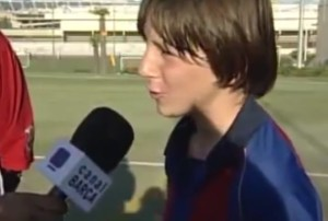lionel messi teenager