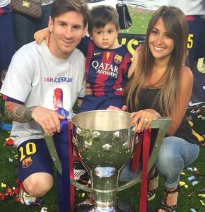 lionel messi wife son