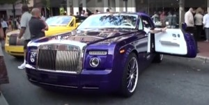 robert herjavec car Rolls-Royce Phantom Drophead coupe