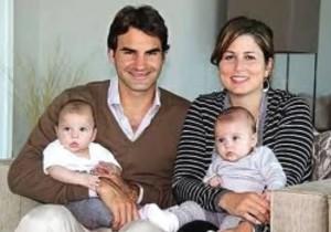roger federer wife children