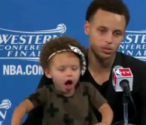 stephen curry daughter Riley