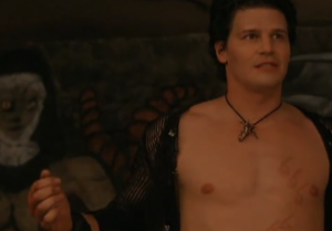 David Boreanaz body shirtless