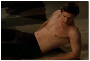 David Boreanaz shirtless body