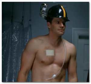 David Boreanaz shirtless pictures