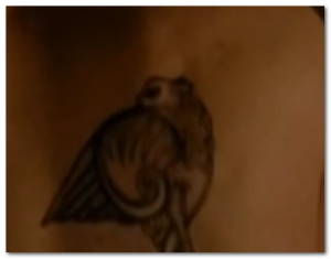 David Boreanaz tattoo back