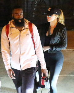 james harden girlfriend kourtney kardashian