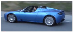 larry page car tesla roadster