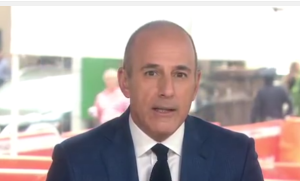 matt lauer news picture