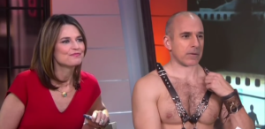matt lauer shirtless 50 shades of grey