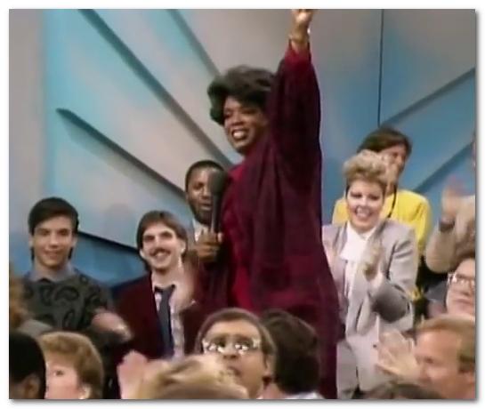 oprah winfrey show 1st episode