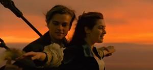 titanic romantic scene james cameron