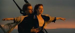 titanic romantic scene kate winslet leonardo di caprio