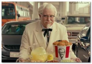 Darrell Hammond colonel sanders KFC