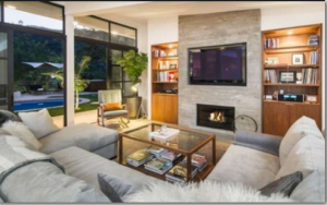 lea michele house pictures 2
