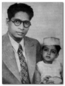 Amitabh Bachchan childhood photo