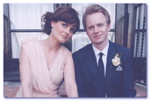 David Hornsby husband emily David deschanel wedding