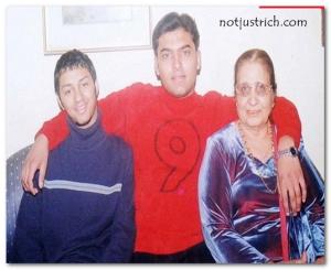Kapil Sharma young rare images