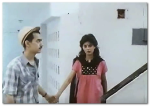 Aamir Khan in Holi (1984)